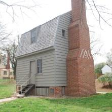 Johnson's log cabin birthplace