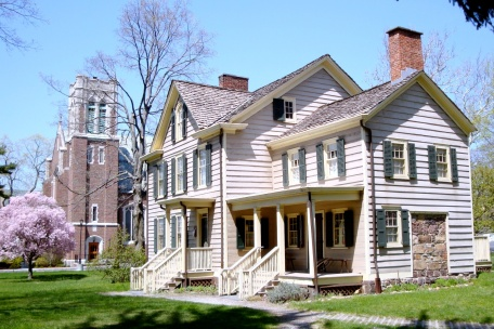 The Manse (parsonage) in Caldwell, New Jersey, where Cleveland was born.