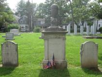 The Cleveland gravesite, Princeton. Photo credit: PresidentsUSA.net.