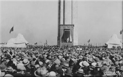 Dedication of Liberty Memorial Nov 11 1926