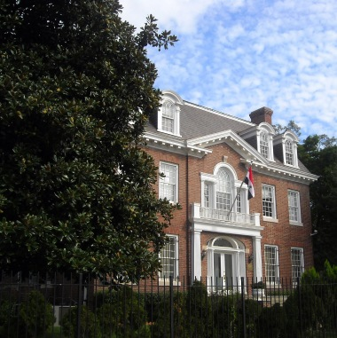 The former home of Chief Justice Taft, 2215 Wyoming Avenue NW, Washington. Now the Syrian embassy.