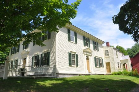 The Pierce Homestead, Hillsborough, New Hampshire.