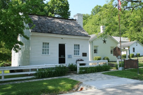 Grant's birthplace in Mount Pleasant, Ohio.