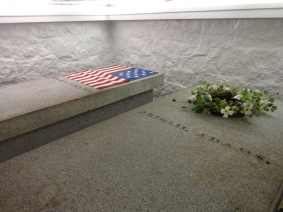 The Adams' Tomb. Photo credit: PresidentsUSA.net.