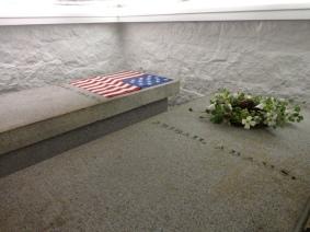 The Adams' Tomb. Photo credit: PresidentsUSA.net.