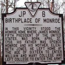 james-monroe-va-marker