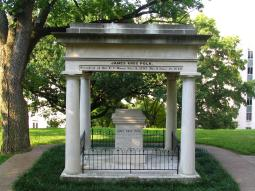 The Polk tomb, capitol hill, Nashville, Tennessee.