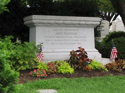 Buchanana's tomb, Lancaster, Pennsylvania
