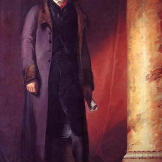 Sully's portrait of Jefferson