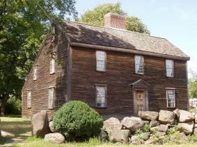 The farmhouse of Deacon John, where the 2nd president was born.