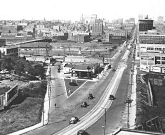Kansas City, looking north, 1922