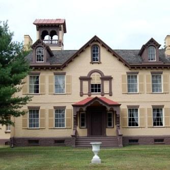 Lindenwald, Van Buren's home in Kinderhook.