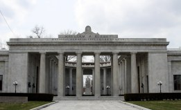 The McKinley Birthplace Memorial, Niles, Ohio.