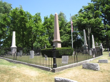 Fillmore family plot, Forest Lawn Cemetery, Buffalo, New York.