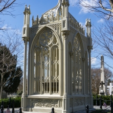 James Monroe's tomb, Richmond, Virginia.