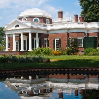 Monticello, Charlottesville, Virginia.