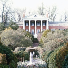 Oak Hill, Leesburg, Virginia. Photo credit: Virginia Department of Historic Resources.