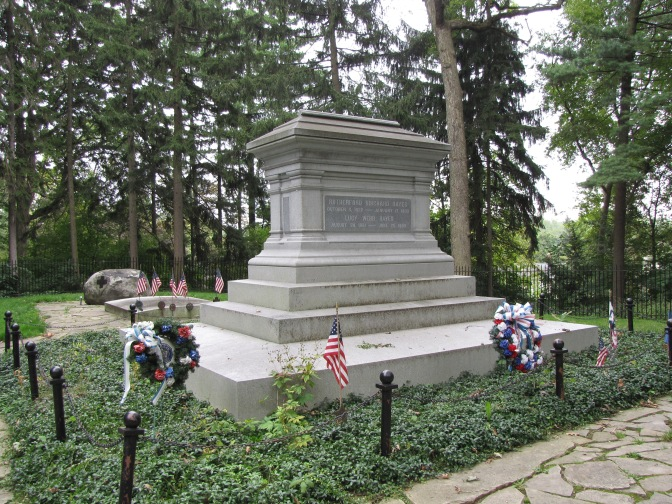 The Hayes tomb, Spiegel Grove.