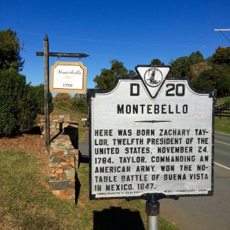 Montebello, where the Taylors paused to rest on their way to Kentucky.