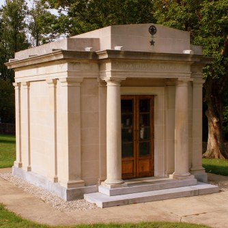 The Taylor mausoleum, Louisville, Kentucky.