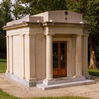 The Taylor mausoleum, Louisville, Kentucky.