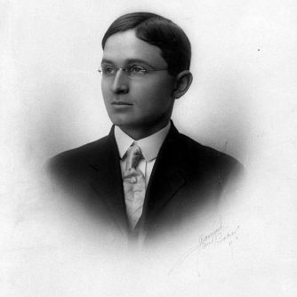 A young Harry Truman