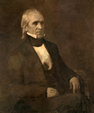 "James Polk (""Young Hickory""), 1845-1849"