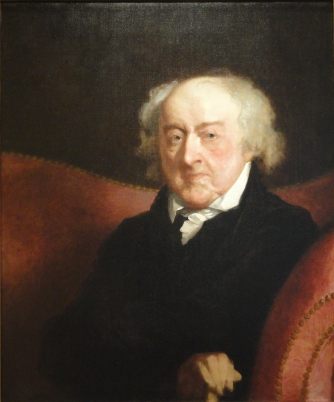 "Old ""Farmer John"" Adams, 1826"