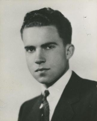 A young Nixon