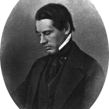 Asa Gray, respected friend of Darwin, considered one of the foremost botanists of the nineteenth century.