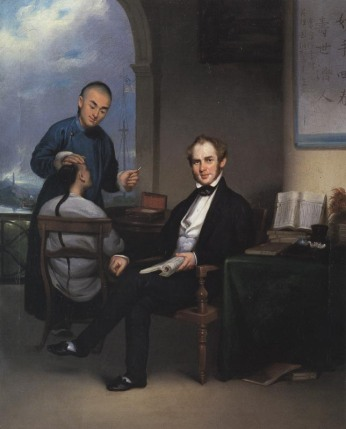 Dr. Peter Parker (1804-1888) brought his heart for the Chinese and his knowledge of opthamology to serve, not be served. Chinese artist Lam Qua painted this portrait.