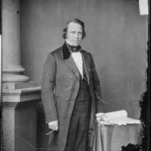 Henry Wilson, Vice President in the first Grant administration, likewise stood vehemently opposed to slavery's perpetuation in the States.