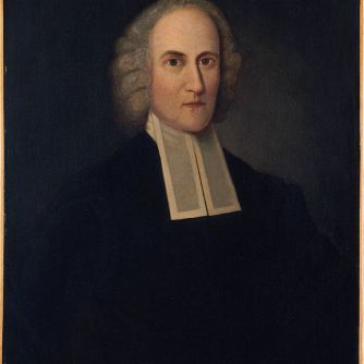 The great Congregationalist minister and theologian, Jonathan Edwards, who served for a time at Northampton, later distinguished as Coolidge's adopted hometown.