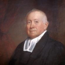 "Manasseh Cutler (1742-1823) was the principal draftsman of the Northwest Ordinance of 1787 which outlined the basis for future state admission and organization. He is justifiably known as the ""Father of Ohio University,"" placing due emphasis on his work to advance education in the future country. It would be in a full and sound education that future generations would advance the ideals fought for in the Revolution and vanquish the narrow-minded prejudices and bigotry of past experience."