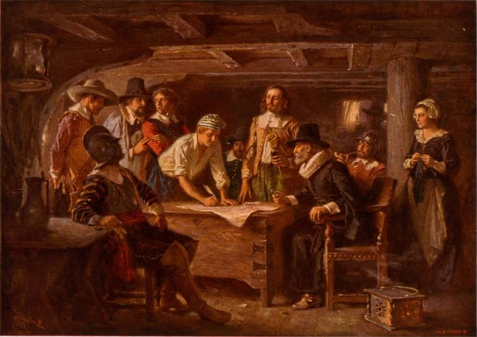 SigningMayflowerCompact-JLFerris1899