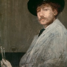 James Abbott McNeil Whistler, born in Lowell, best known for the depiction of his mother Anna in paint, substituting for an absent sitter that became one of the most iconic paintings of the era.